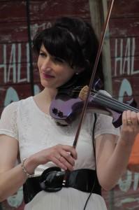 Our fab violinist Emma